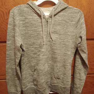 Youth medium zip up hooded sweatshirt